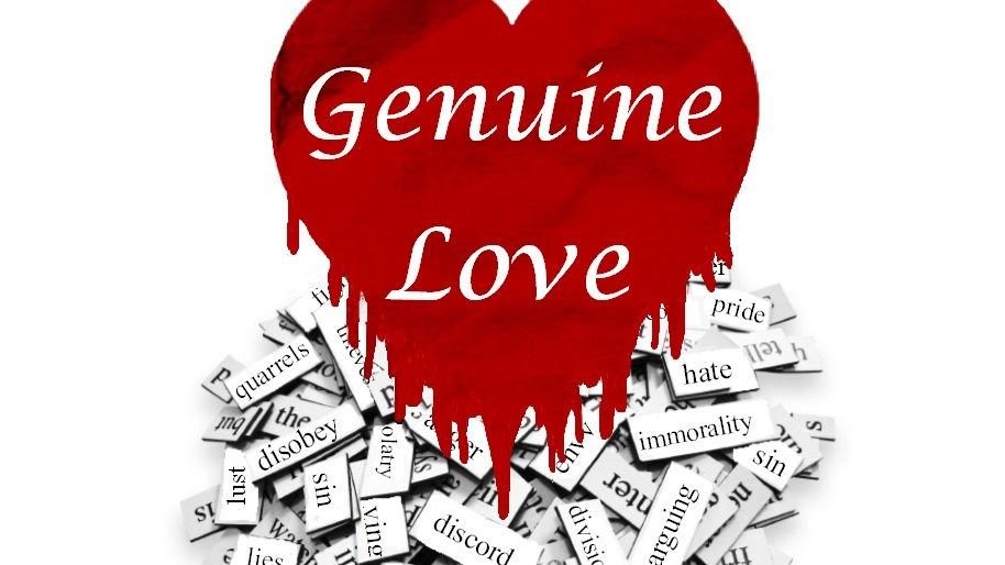 Genuine Love Sermon Series Slide