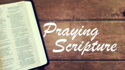 Praing Scripture